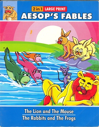 Aesop Fables (The lion and the mouse)