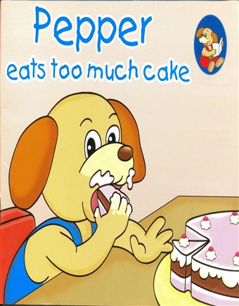 Pepper Eats Too Much Cake